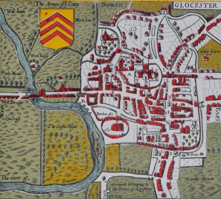 John Speed Map 1610