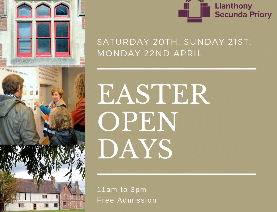 Easter Open Days 2019