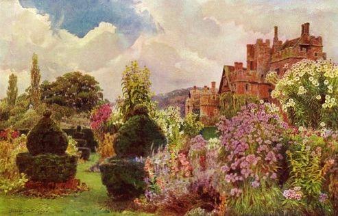 Elgood Compton Wynyates - Gertude Jekyll garden talk