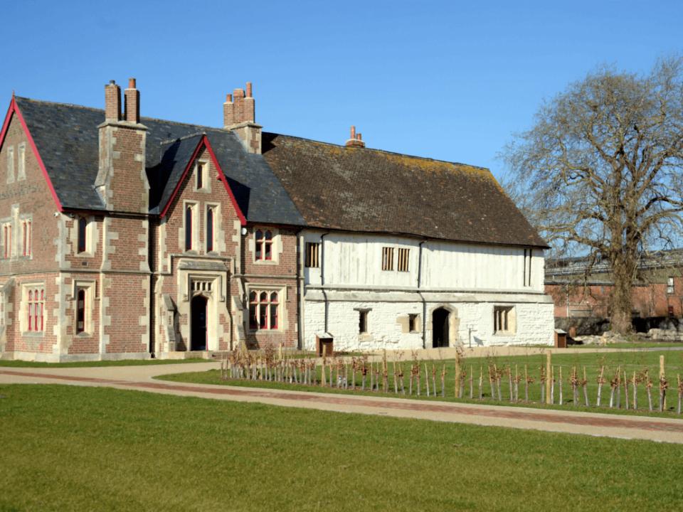 Victorian Farm House at Llanthony Secunda Priory