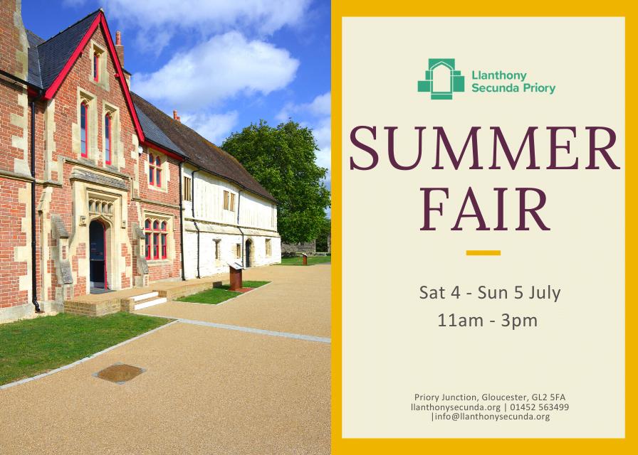 Summer Fair at Llanthony Secunda Priory