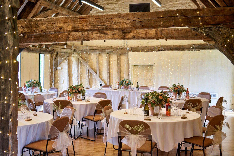 wedding reception at lady margaret hall