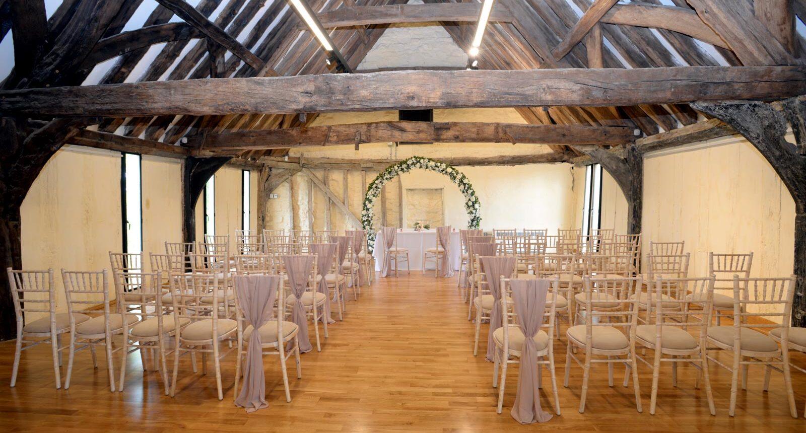 lady margaret hall in gloucester wedding ceremony